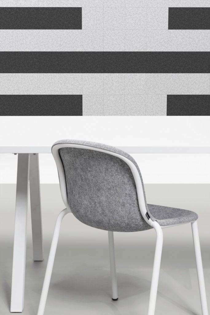 De Vorm LJ 2 – PET Vilt Stack Chair