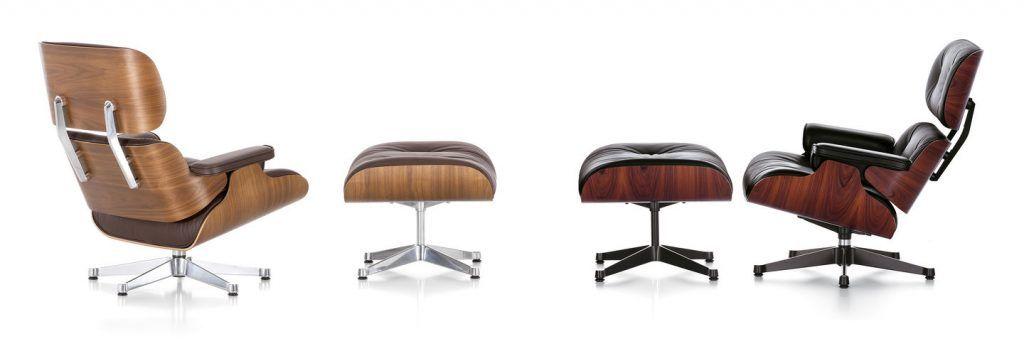 Vitra Lounge Chair en Ottoman