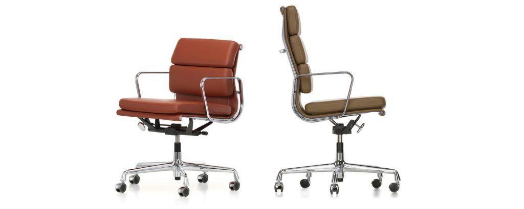 Vitra Eames Soft Pad EA217/EA219 Bureaustoel